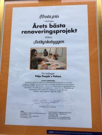 diplom renoveringspris
