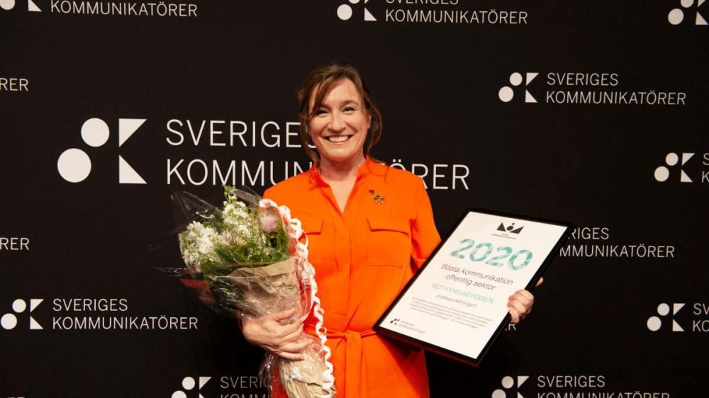Charlotta Lundström, Botkyrkabyggen. Foto Sveriges Kommuikatörer
